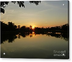 Reflections At Dusk Acrylic Print