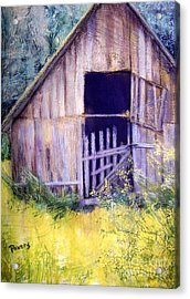 Relic Acrylic Print by Mary Lynne Powers