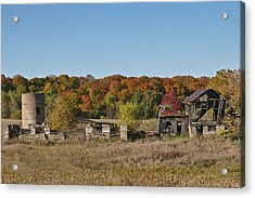 Acrylic Print featuring the photograph Relics Of The Past by Gary Hall