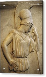 Relief Of The Mourning Athena. 460 Bc Acrylic Print by Everett