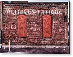 Relieves Fatigue  Acrylic Print