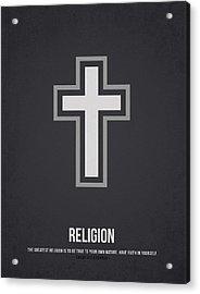 Religion Acrylic Print