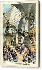 Religion And Science Acrylic Print by Library Of Congress