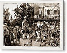 Religious Riots At Colombo, Ceylon, Sri Lanka The Buddhist Acrylic Print