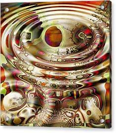 Rem Dreams Acrylic Print by Wendy J St Christopher