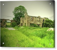 Remains Of Lodge Farm, This Ruin Was Likely Acrylic Print by Litz Collection
