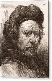 Rembrandt Portrait 1 Acrylic Print