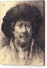 Rembrandt Portrait2 Acrylic Print
