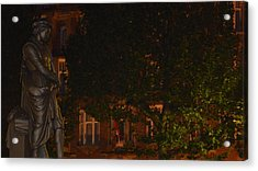Rembrandt Square Acrylic Print