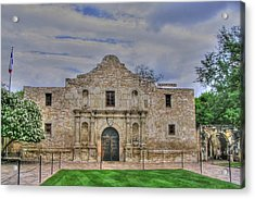 Remember The Alamo Acrylic Print by Barry Jones