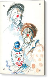 Remember The Clowns Acrylic Print