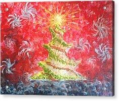 Remember The Light Acrylic Print by Eloisa Bevilacqua