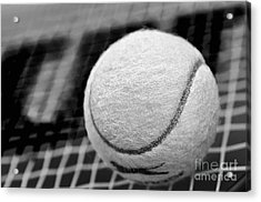 Remember The White Tennis Ball Acrylic Print