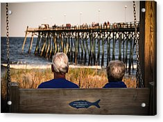 Remember When Acrylic Print by Karen Wiles