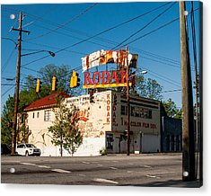 Acrylic Print featuring the photograph Remember When? by Robert L Jackson