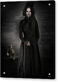 Remember Your Mortality Acrylic Print by Lourry Legarde