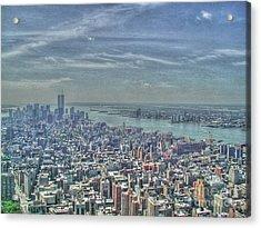 New York Remembering 9/11 Acrylic Print