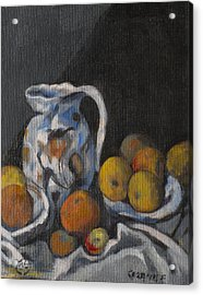 Remembering Cezanne Acrylic Print