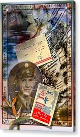 Remembering Joe Acrylic Print