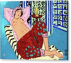 Remembering Matisse Acrylic Print