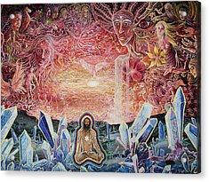 Remembering Acrylic Print by Matthew Fredricey