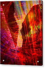Remembering Acrylic Print by Shirley Sirois