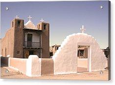 Remembering The Pueblo Acrylic Print by Heidi Hermes