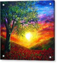 Remembrance Acrylic Print by Ann Marie Bone