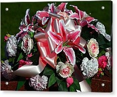Remembrance Acrylic Print by Linda Edgecomb