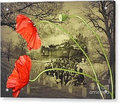Remembrance Acrylic Print by Linda Lees