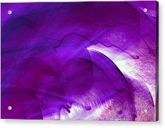 Remembrance - Purple Acrylic Print
