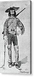 Remington Soldier, 1890 Acrylic Print by Granger