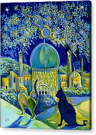 Reminiscences Of Asia. Bed Time Story Acrylic Print