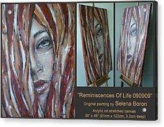 Reminiscences Of Life 090909 Acrylic Print