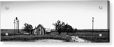 Remnants Of The Dust Bowl Acrylic Print