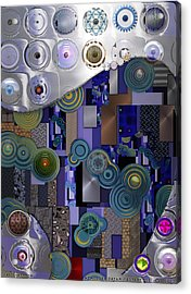 Remodern Dream Abstractor  Acrylic Print
