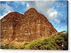Acrylic Print featuring the photograph Remote Beach Hawaii by Mary Bedy