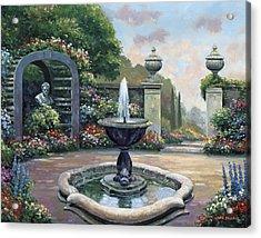 Renaissance Garden Acrylic Print