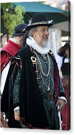 Renaissance Lord Acrylic Print by Ivete Basso Photography