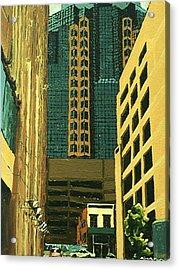 Renaissance Tower Acrylic Print by Paul Guyer
