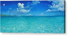 Rendezvous Bay Shower  Acrylic Print