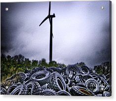 Renewable Energy Acrylic Print