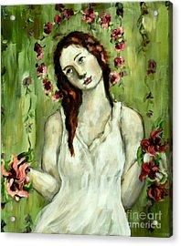 Renewal Acrylic Print by Carrie Joy Byrnes