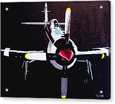Reno Air Races Acrylic Print by Paul Guyer