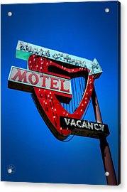 Reno - Heart O' Town Motel Acrylic Print by Lance Vaughn
