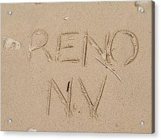 Reno Acrylic Print