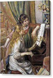 Renoir, Pierre-auguste 1841-1919. Two Acrylic Print by Everett