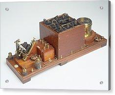 Replica Of Marconi's Wireless Telegraph Acrylic Print