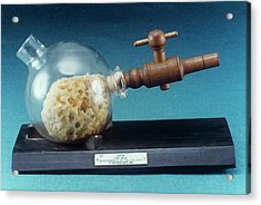 Replica Of Morton Ether Inhaler Acrylic Print by Science Photo Library