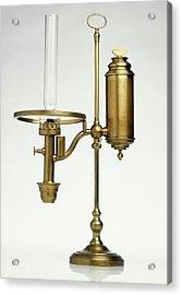 Replica Of Oil Lamp Acrylic Print